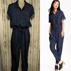 Old Navy chambray jumpsuit - M